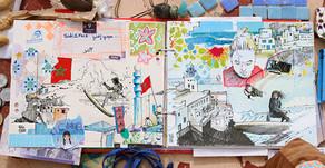 """Les poster """"carnets de voyages"""""""