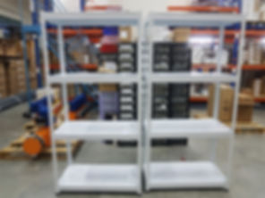 4 Tiers, Metal Shelving, 2 Small Racks