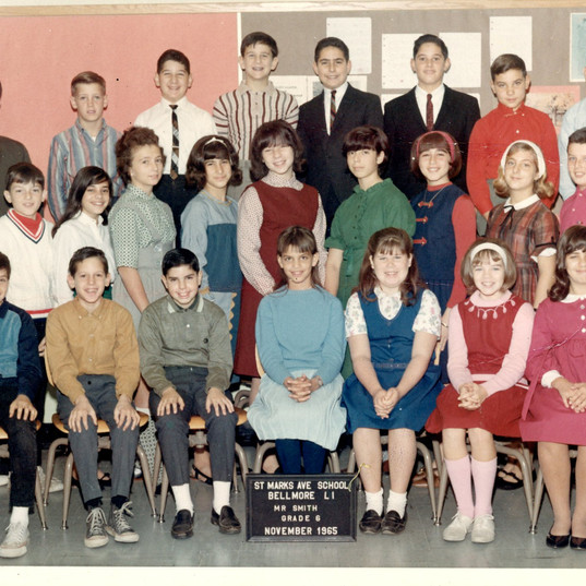 Sixth grade Mr. Smith's sixth grade class. Me, top row in white shirt
