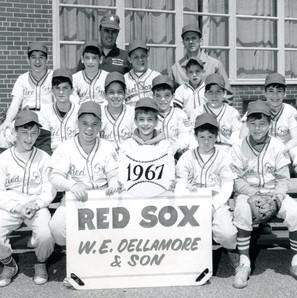 Little League, top row far left, 13-years-old