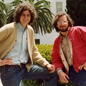 Me on the right with good friend Robert. In San Francisco, circa 1975