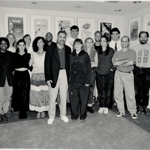 Me, second in from right, at a group of songwriters at ASCAP.