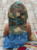 Embroidery Hats Custom Camo Blue Letters
