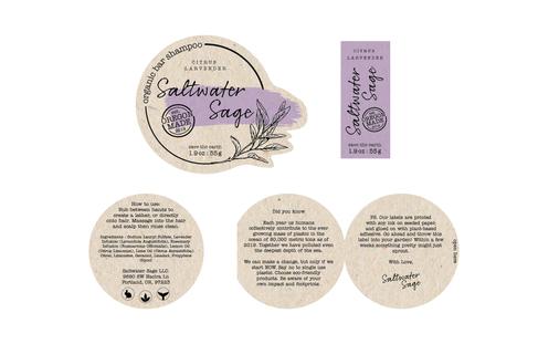 Saltwater Sage Complete Lable