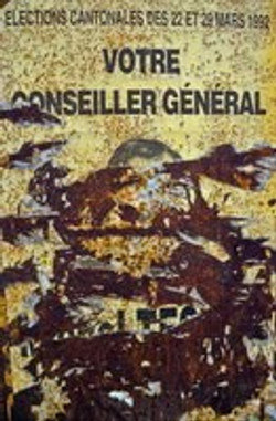 1992-08 l'Ardèche, les affiches