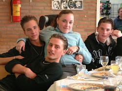 2003-05 Afscheidsdiner Examenklas