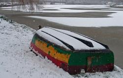 2005-03 Sneeuw op de Singel