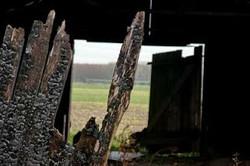 2010-04 Zwarte schuur, Kromwijkerdij