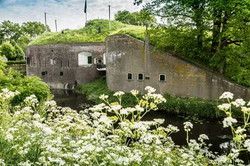Fort Vuren, Batterij Brakel, Fort Gi
