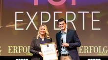 Auszeichnung zu den TOP Experten in Deutschland durch das ERFOLG Magazin und Julien Backhaus