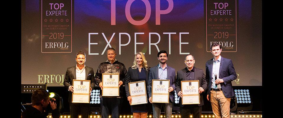 Auszeichnung vom Magazin Erfolg Martina