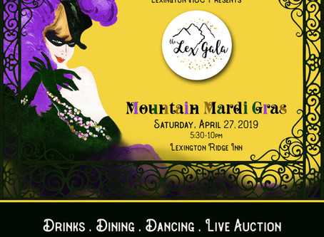Get Your Tickets! The Lex Gala: Mountain Mardi Gras