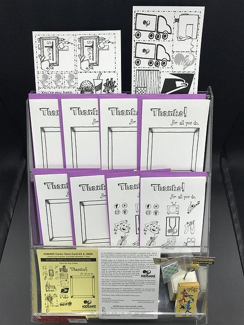 KidSAKE Cares: Hero Cards Kit #2 Essential Workers, Educators, Arts