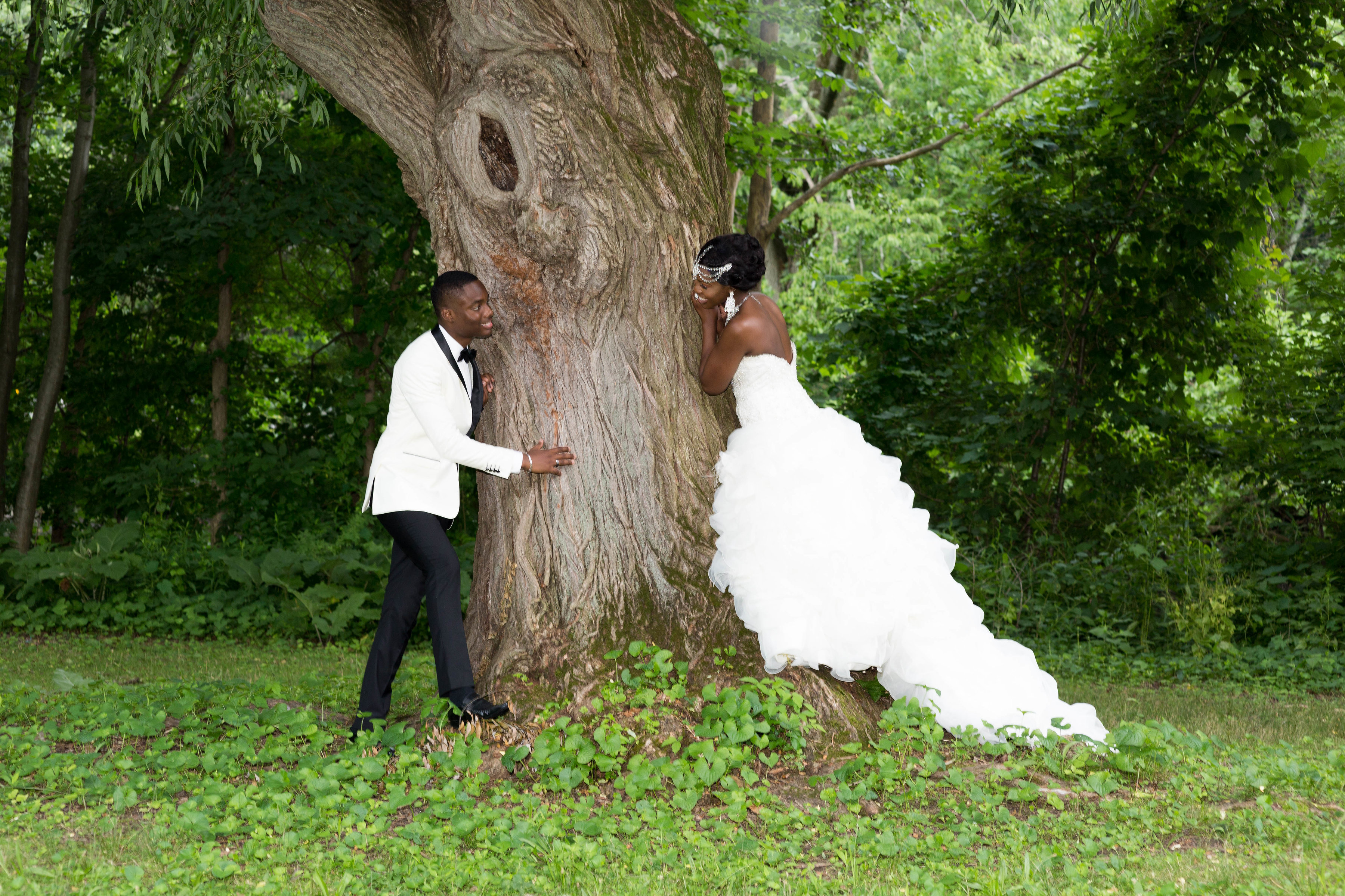 New Jersey Wedding First Look