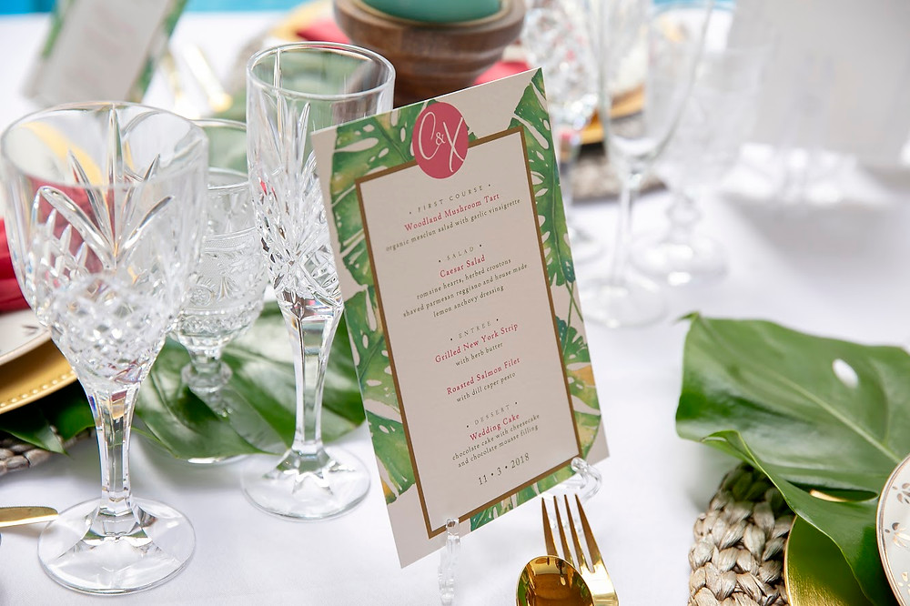 New York Wedding Stationery by G.C. Lettering. Photo by Vega Touch Studios.