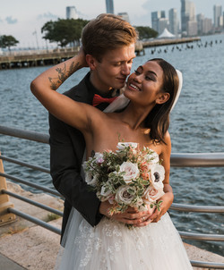 Manhattan Wedding Hudson River Westside