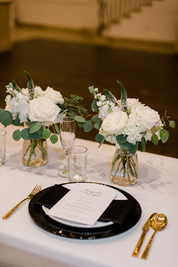 Place Setting at Renaissance Event Hall