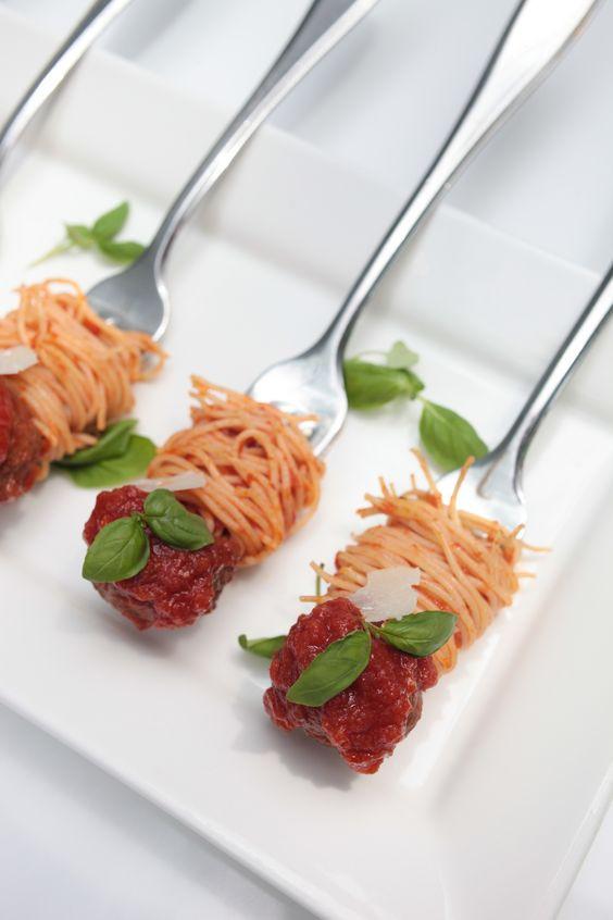 Spaghetti and Meatballs A la Forchetta