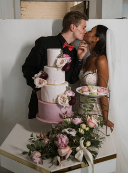 Manhattan Wedding Cake photo by The Brot