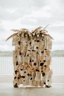 Hutton Brickyards Wedding Book Wall Back