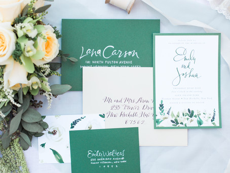 Working With Your Vendors: Stationery and Calligraphy