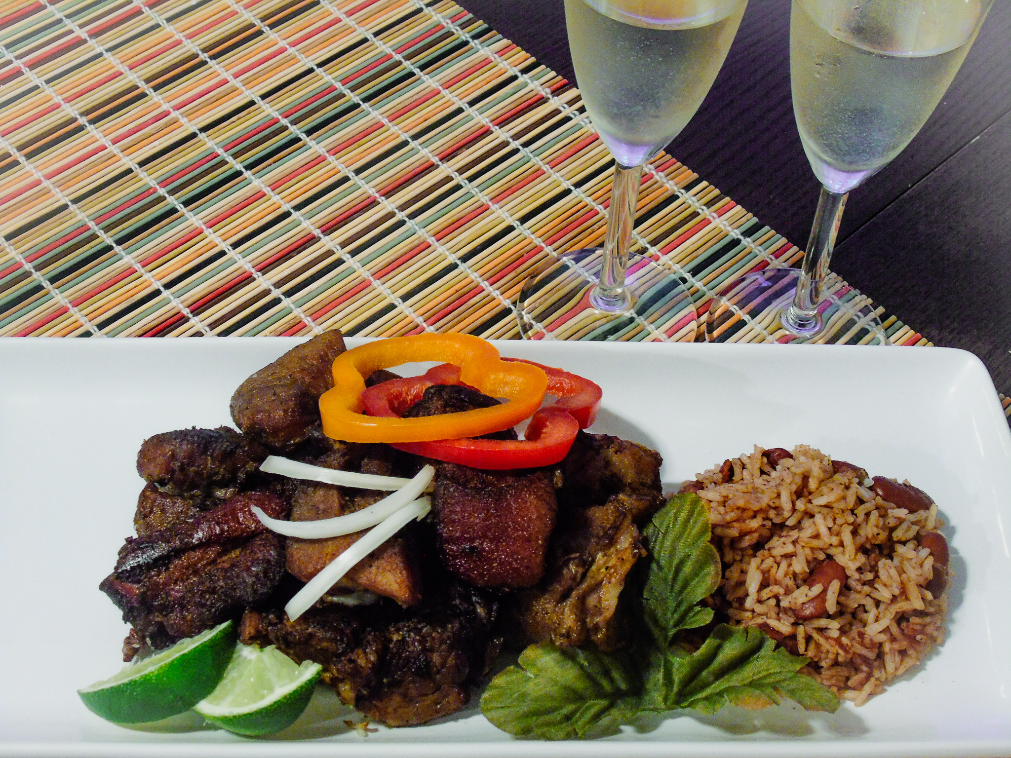 Griot with Red Beans and Rice