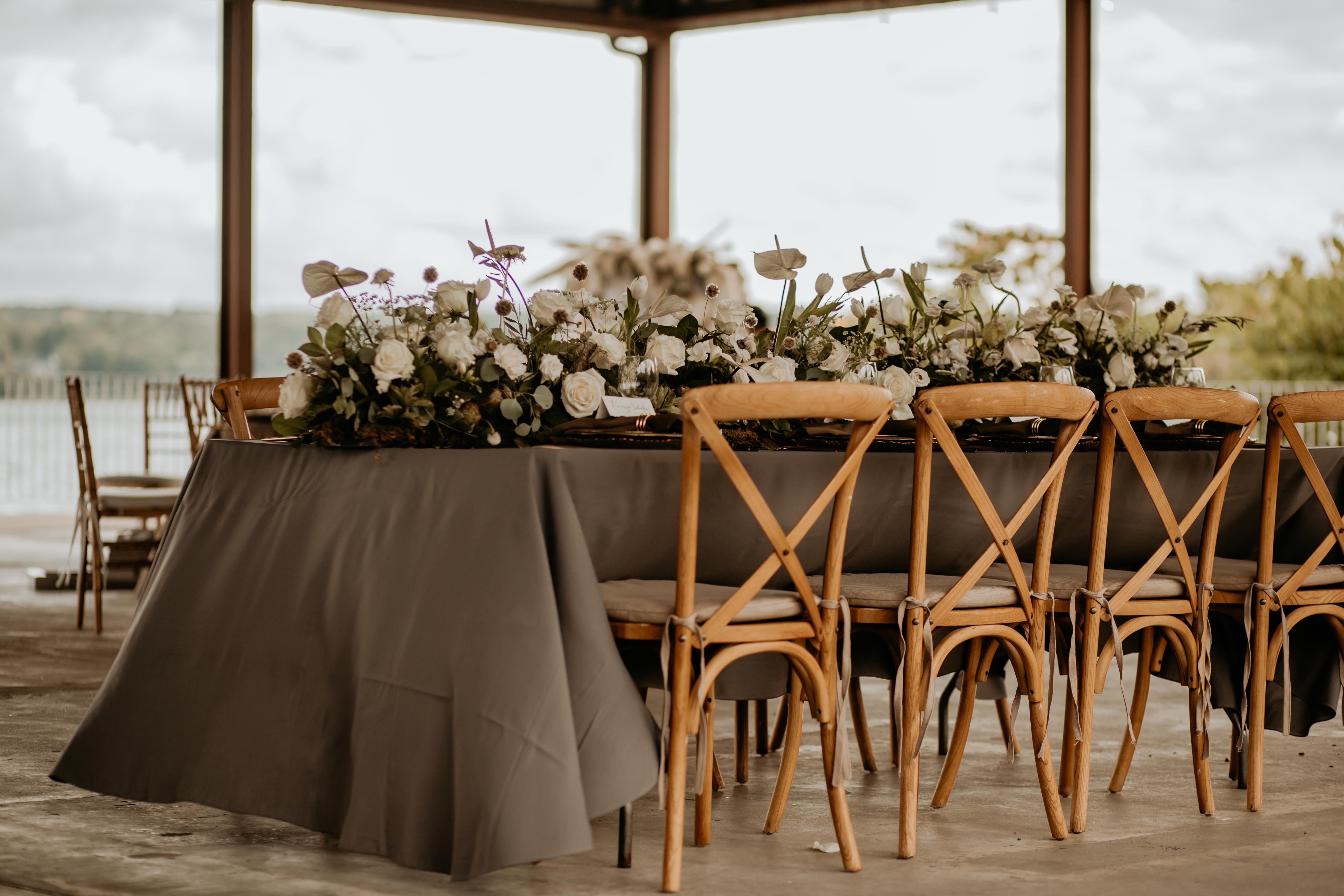 Hutton Brickyards Tablescape Design by Wedding M.D.