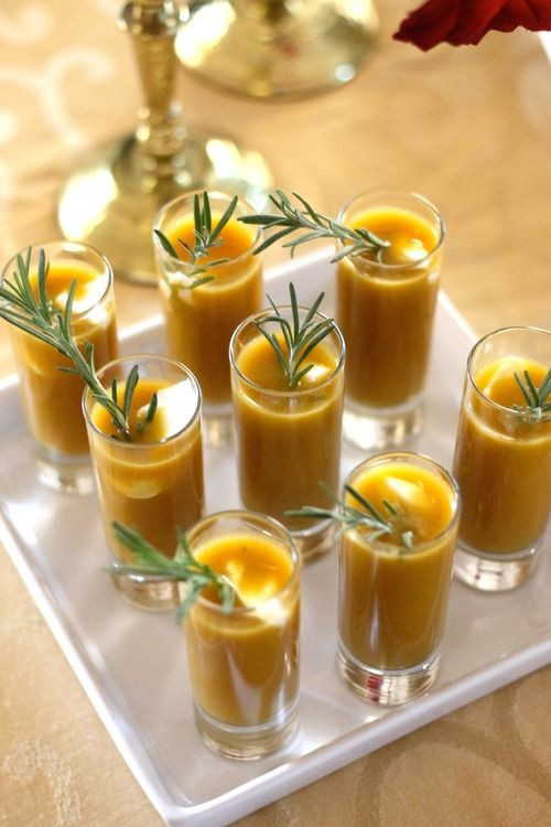Butternut Squash Shooters