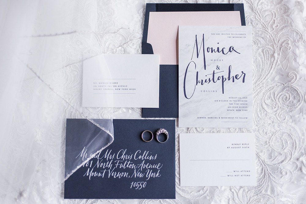 Wedding Stationery by G.C. Lettering. Photo by George and Claudia.