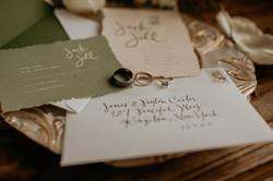 Stationery Hutton Brickyards Wedding BLV