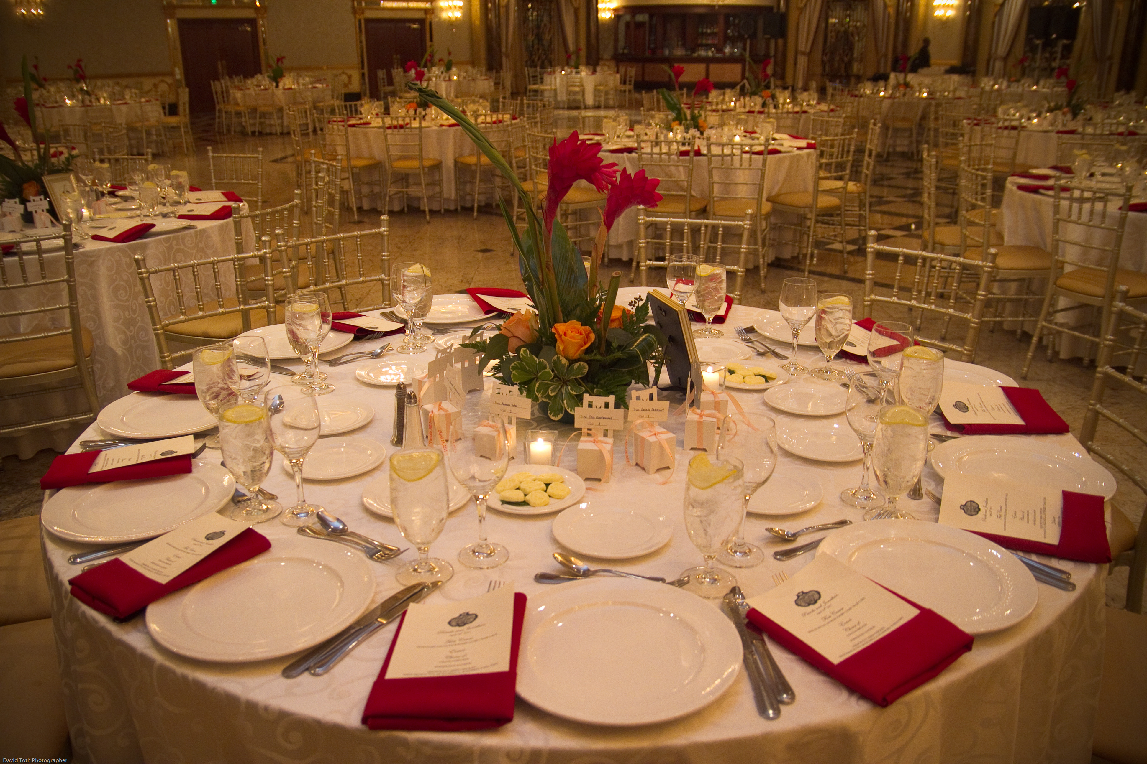 The Venetian Wedding Dinner Table