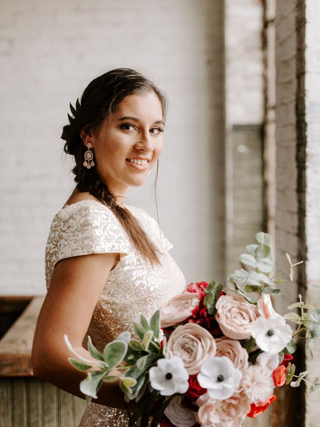 Art Factory Wedding Photo by Wicked Petunia Photography Summar