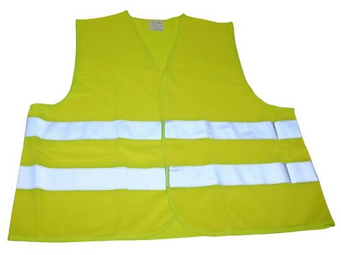 Colete de sinalização Alta Visibilidade Verde