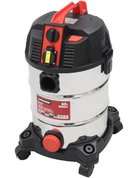 Aspirador de pó e líquidos 1600 W