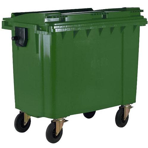 Contentor de resíduos urbanos c/ 4 rodas