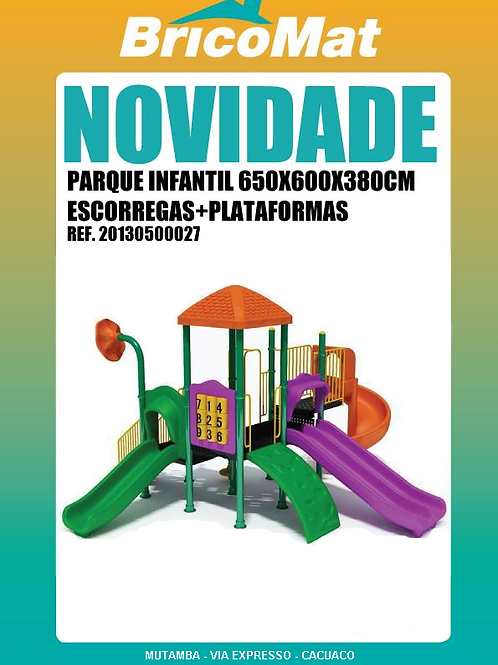 PARQUE INFANTIL KP-B521 650X600X380CM
