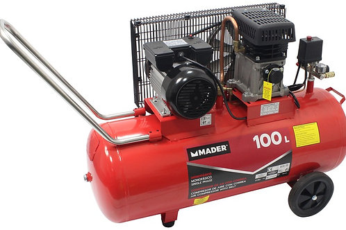 COMPRESSOR 100LT 2,75HP C/C MONOFASICO MPT