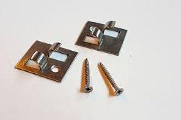 Clip inox para aplicação de deck composito