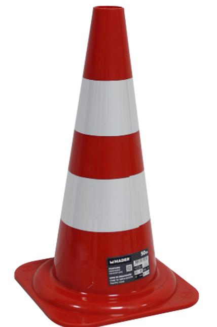 Cone de sinalização 50 cm
