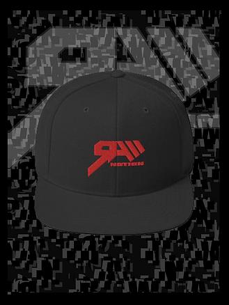 RAWN Flat Bill Hat Panel.png