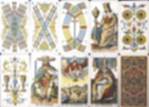 Ancient Tarot Card