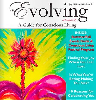 Evolving Magazine Palmistry Cindy Mckean July 2016