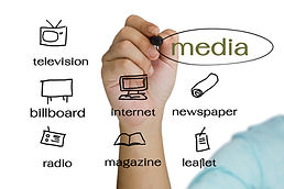 Hand write a media channel for business.