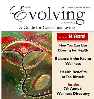 Evolving Magazine Dowsing Cindy Mckean March 2017