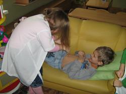 МАДОУ ЦРР-детский сад №70 игра в больницу