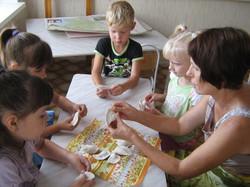 МАДОУ ЦРР-детский сад №70 лепка из соленого теста