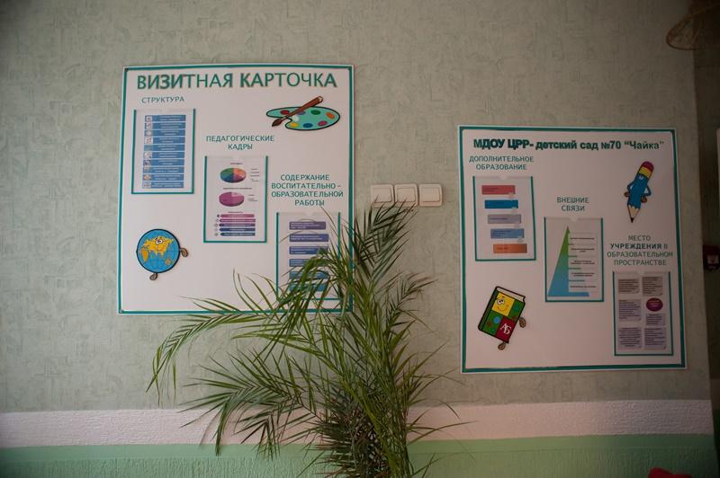МАДОУ ЦРР-детский сад №70 визитная карточка