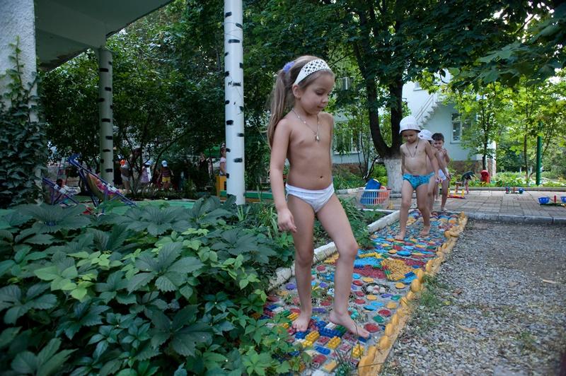 МАДОУ ЦРР-детский сад №70 ходьба по дорожкам здоровья