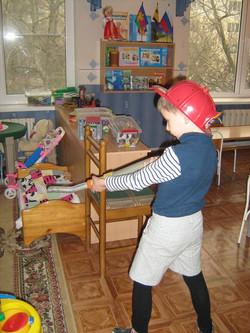 МАДОУ ЦРР-детский сад №70 игра в пожарников