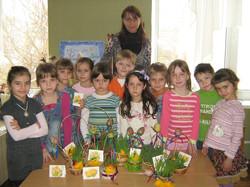 МАДОУ ЦРР-детский сад №70 пасхальные украшения
